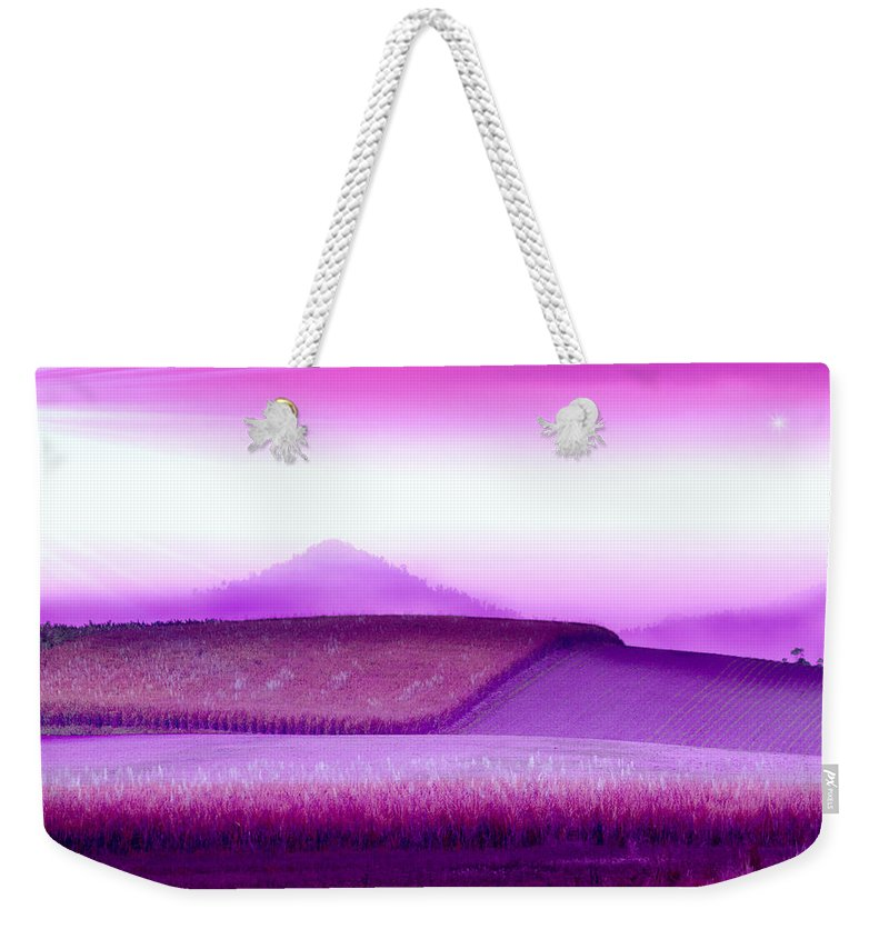 Landscapes Weekender Tote Bag featuring the photograph A Sweet Harvest by Holly Kempe