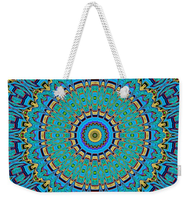 Digital Weekender Tote Bag featuring the digital art A Thing Of Beauty by Joy McKenzie