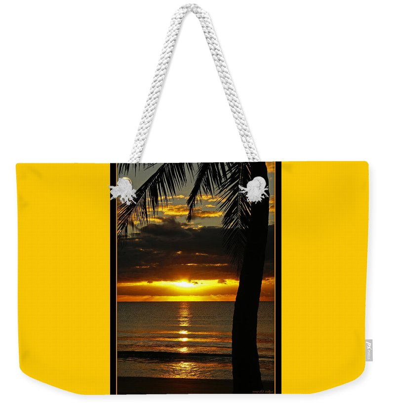 Landscape Weekender Tote Bag featuring the photograph A Touch Of Paradise by Holly Kempe