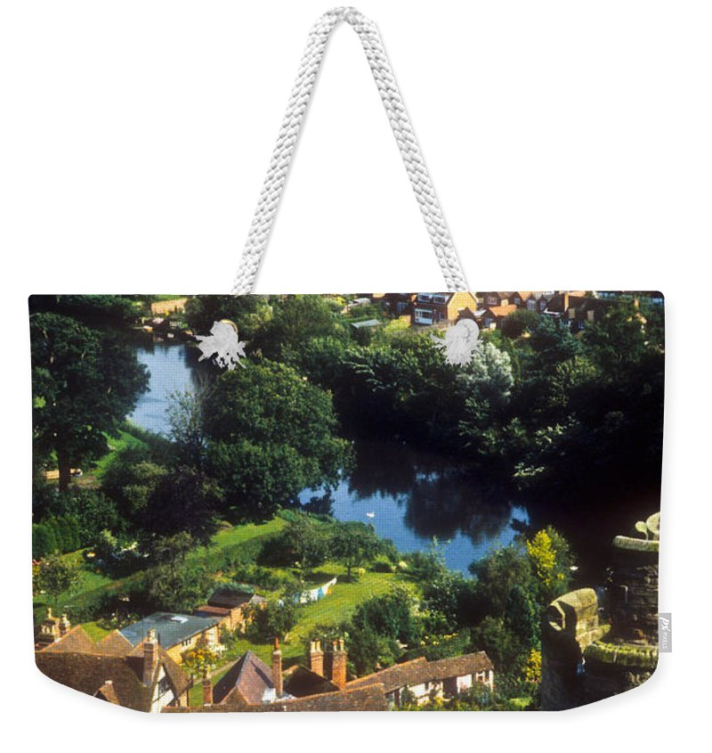 Ireland Weekender Tote Bag featuring the photograph A View From Blarney Castle In Ireland by Douglas Barnett