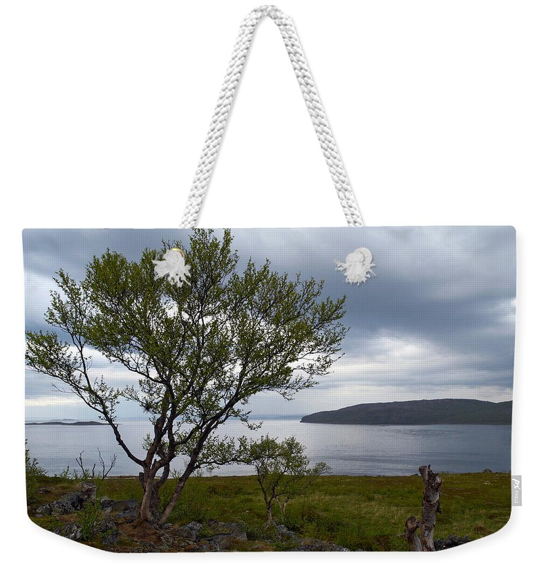 Lehtokukka Weekender Tote Bag featuring the photograph A View To The Arctic Sea by Jouko Lehto