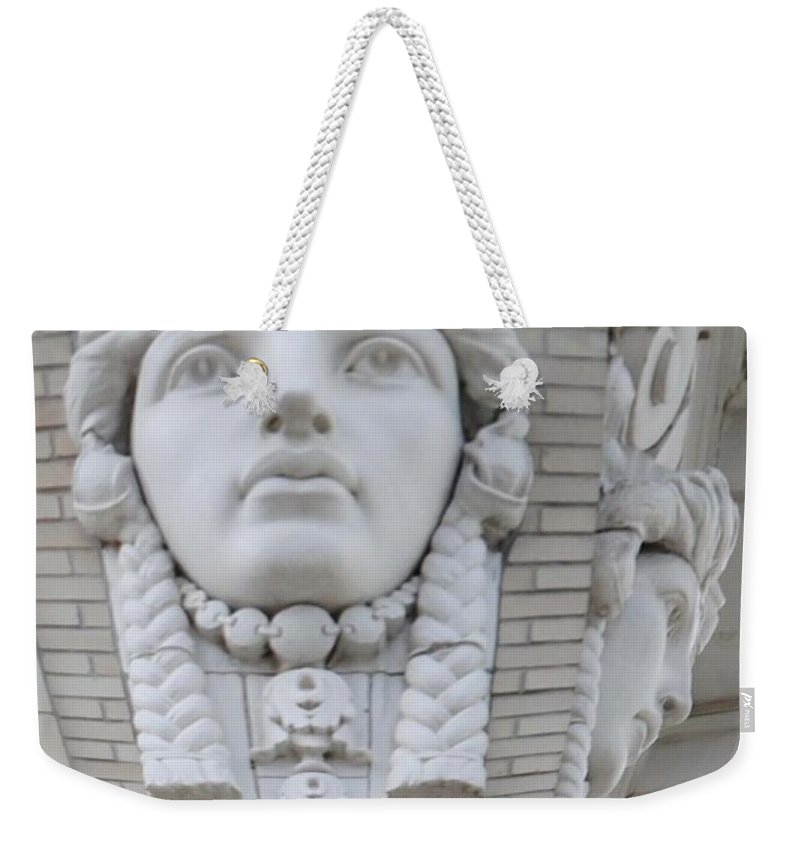 City Weekender Tote Bag featuring the photograph A Woman's View by Jost Houk