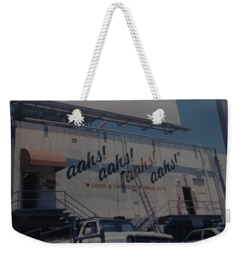 Architecture Weekender Tote Bag featuring the photograph Aahs by Rob Hans