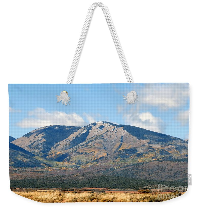 Abajo Mountains Utah Weekender Tote Bag featuring the photograph Abajo Mountains Utah by David Lee Thompson