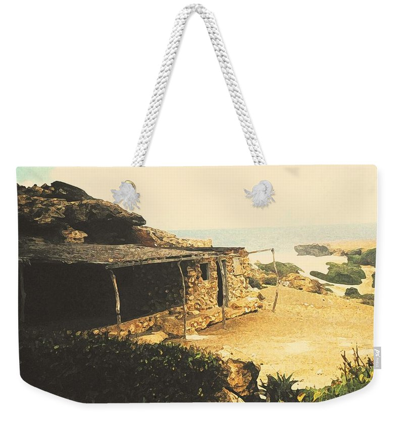Aruba Weekender Tote Bag featuring the photograph Abandoned In Aruba by Ian MacDonald