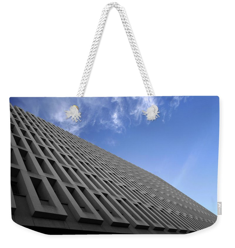Building Weekender Tote Bag featuring the photograph ABC by Kelly Jade King