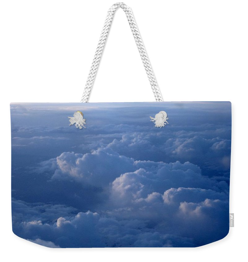 Above The Clouds Weekender Tote Bag featuring the photograph Above The Clouds by Rose Webber Hawke