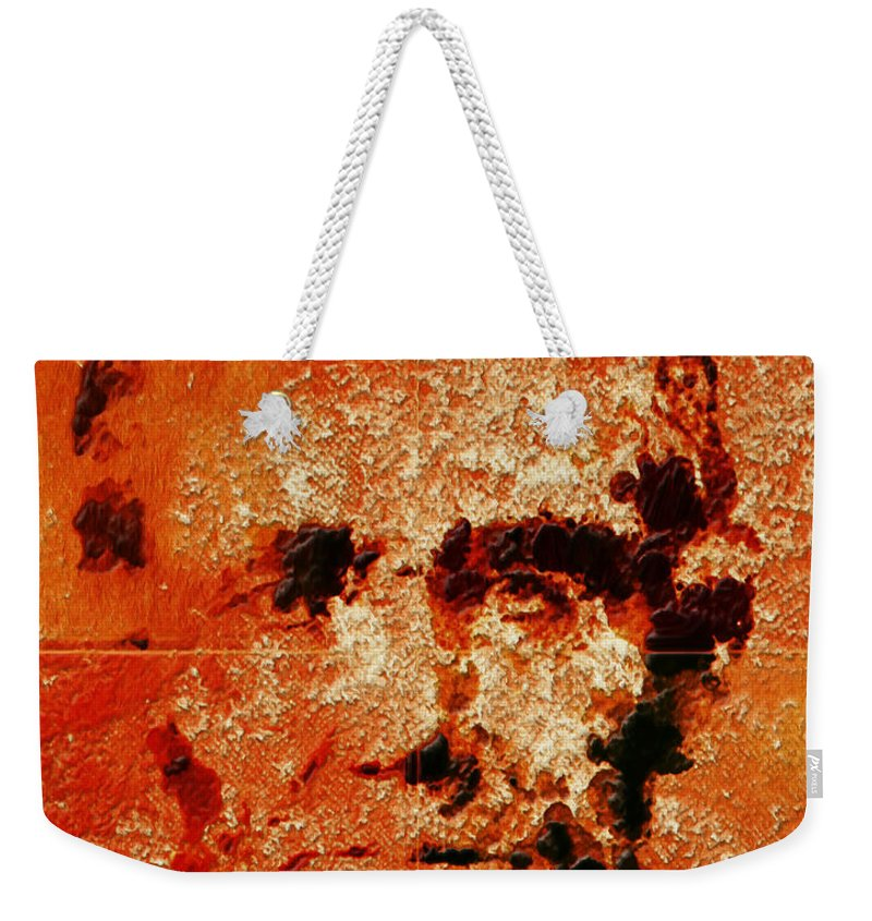 Abraham Lincoln Weekender Tote Bag featuring the mixed media Abraham Lincoln 4d by Brian Reaves