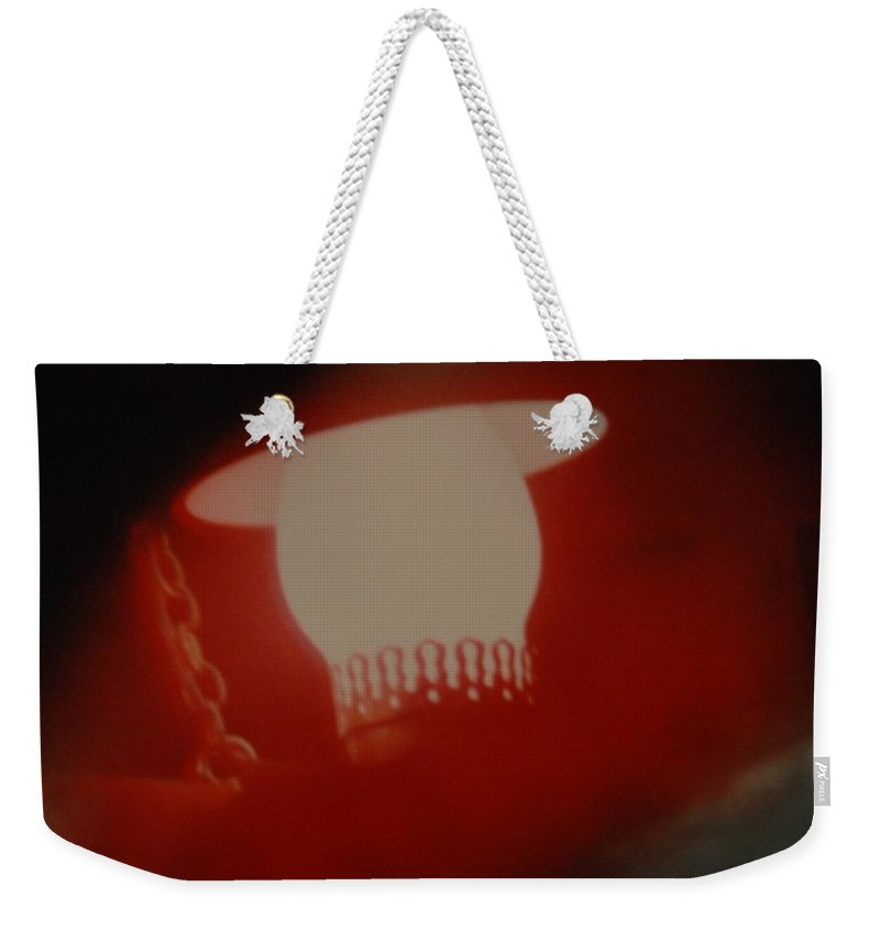 Lantern Weekender Tote Bag featuring the photograph Abstarct Sea Lantern by Rob Hans