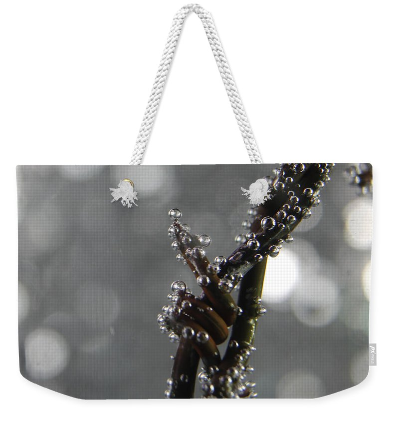 Abstract Weekender Tote Bag featuring the photograph Abstract 014 by Dawn Marshall