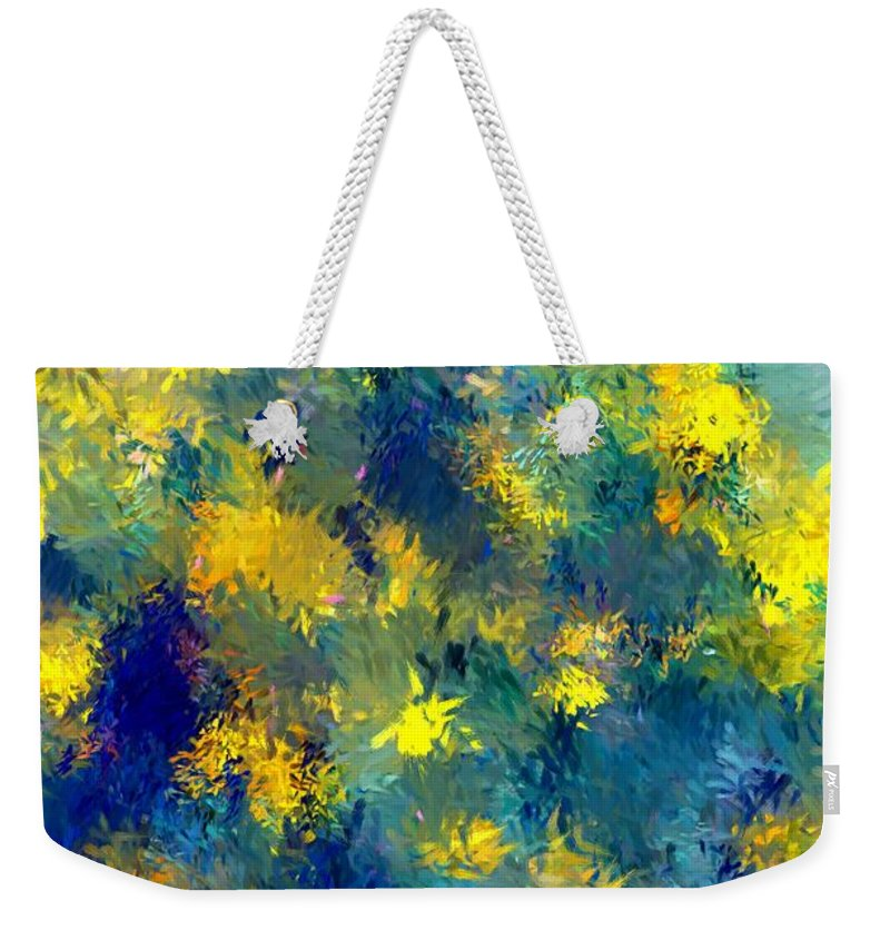 Abstract Weekender Tote Bag featuring the photograph Abstract 06-28-09 by David Lane