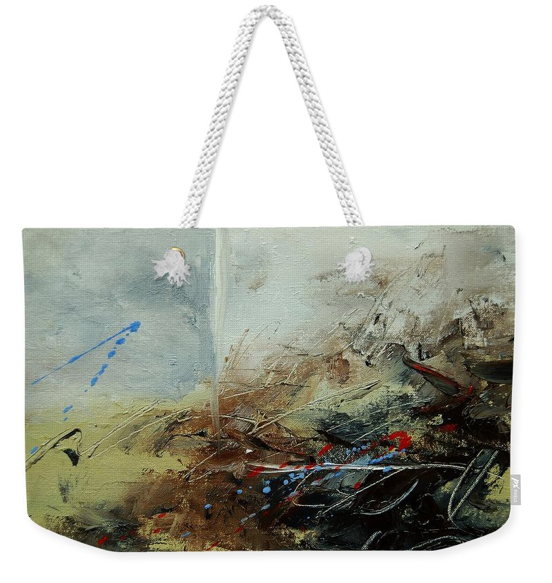 Abstract Weekender Tote Bag featuring the print Abstract 070408 by Pol Ledent