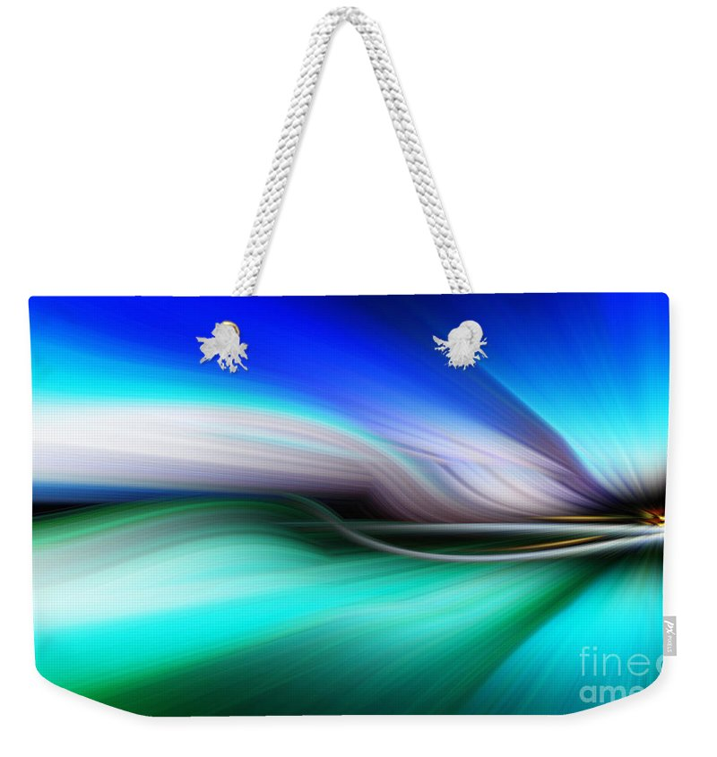 Art Weekender Tote Bag featuring the photograph Abstract 0902 M by Howard Roberts