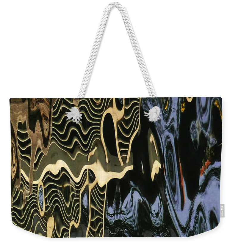 An Abstract Weekender Tote Bag featuring the photograph Abstract 13 by Xueling Zou