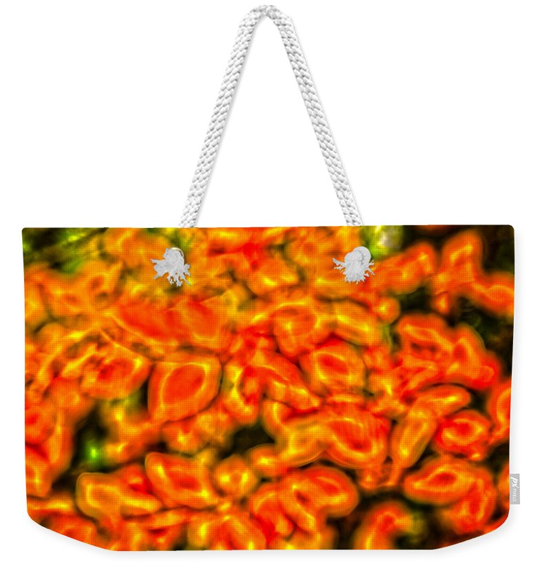 Abstract Weekender Tote Bag featuring the photograph Abstract 2 by John Richardson