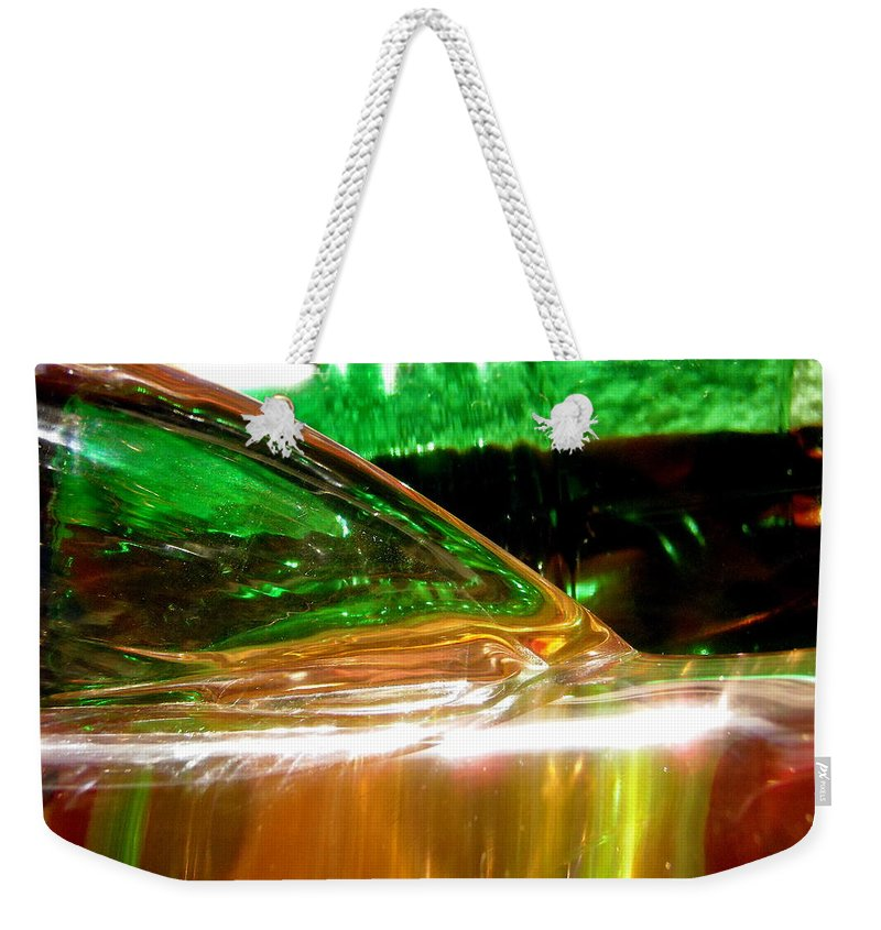 Abstract Weekender Tote Bag featuring the photograph Abstract 381 by Stephanie Moore