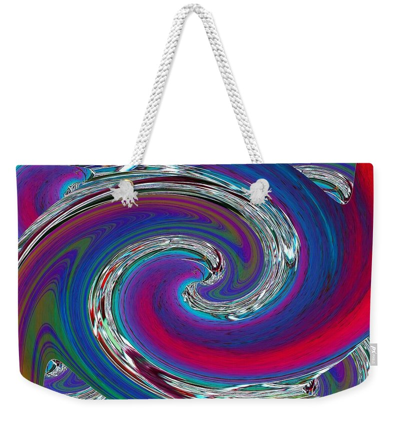 Abstract Weekender Tote Bag featuring the photograph Abstract 5 by Tim Allen