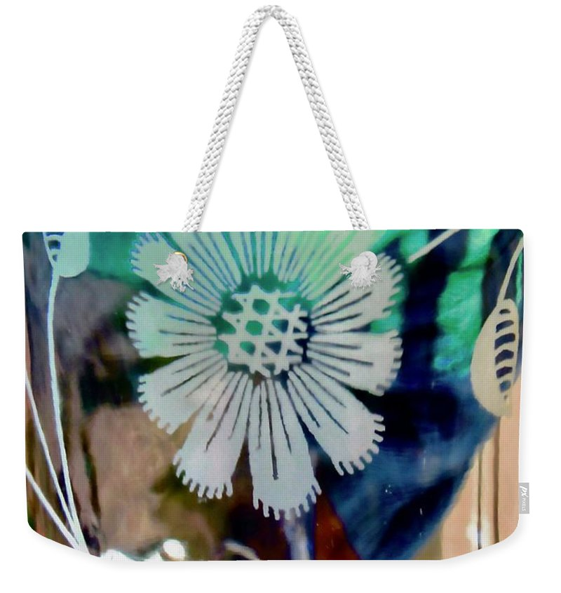 Flower Weekender Tote Bag featuring the photograph Abstract 6875 by Stephanie Moore