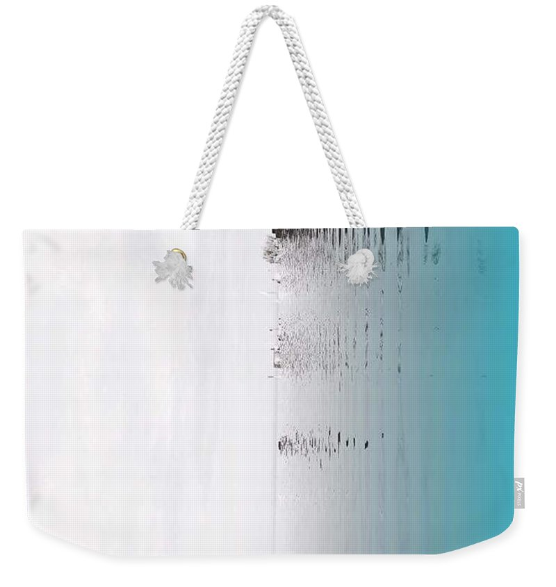 Abstract Weekender Tote Bag featuring the photograph Abstract by Deepan V