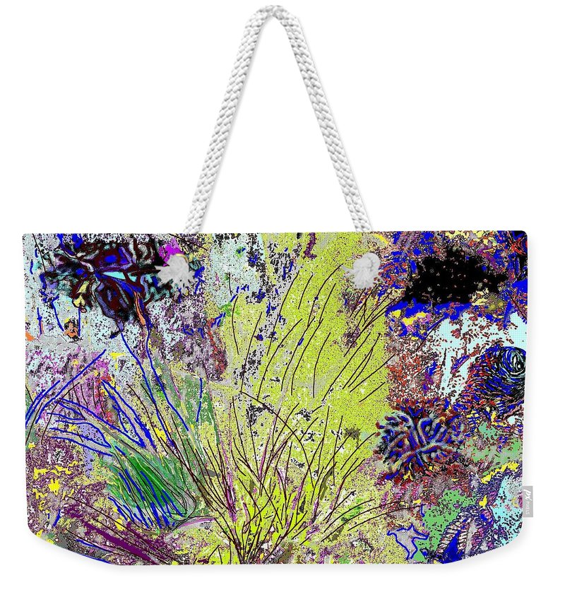 Abstract Weekender Tote Bag featuring the photograph Abstract Musings by Ian MacDonald
