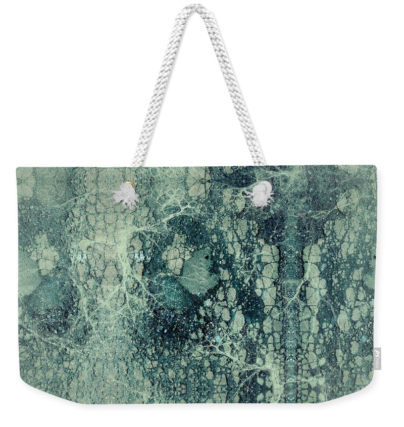 Robert Kernodle Digital Abstracts Weekender Tote Bag featuring the digital art Abstract No 22 by Robert G Kernodle