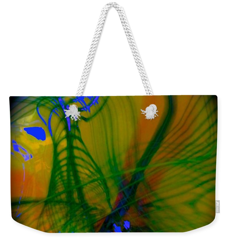 Music Weekender Tote Bag featuring the photograph Abstract Of Music And Harmony by Tim G Ross