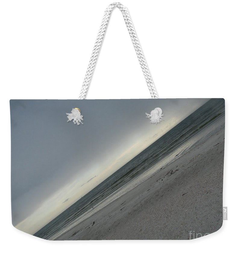 Ocean Weekender Tote Bag featuring the photograph Abstract Sea by Amanda Barcon