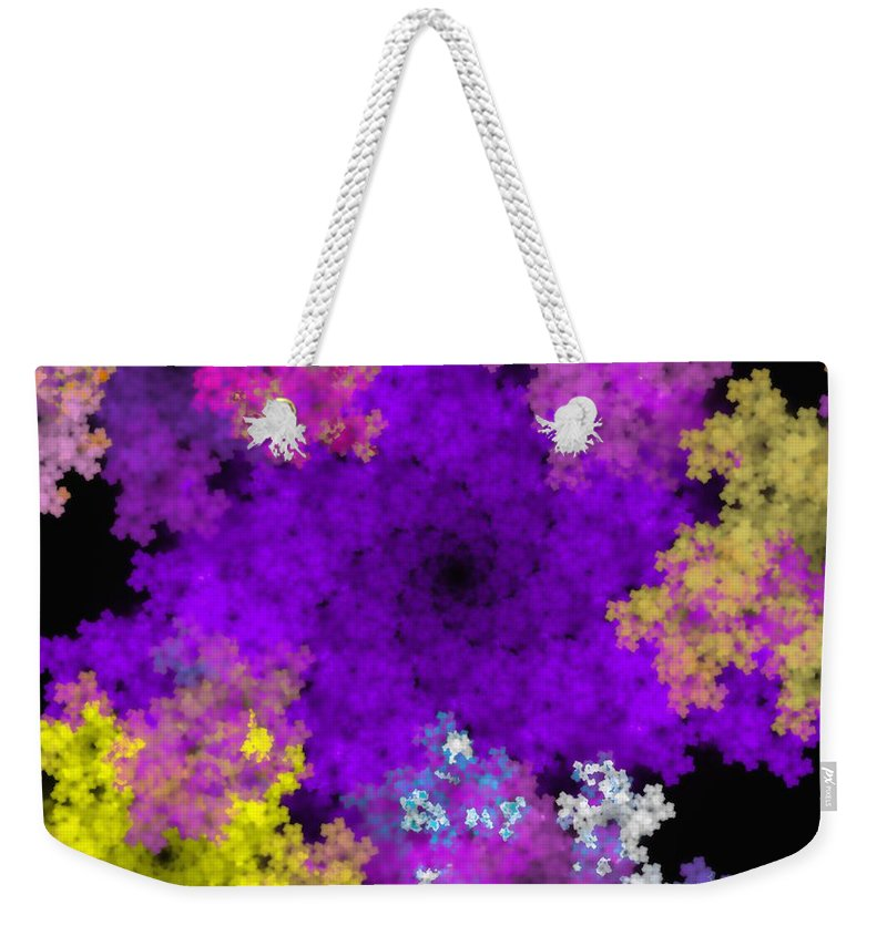 Abstract Digital Painting Weekender Tote Bag featuring the digital art Abstract10-16-09-1 by David Lane