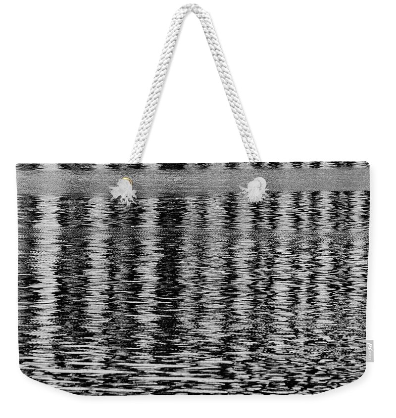 Arthur Kill Weekender Tote Bag featuring the photograph Abstraction by Steven Richman