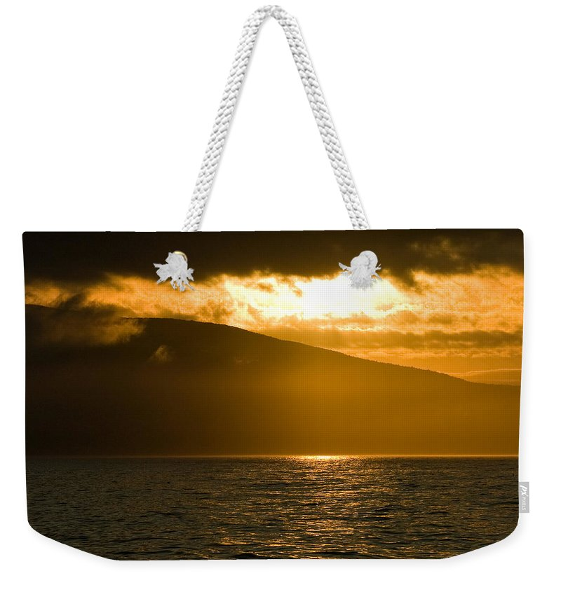 Sunset Weekender Tote Bag featuring the photograph Acadia National Park Sunset by Sebastian Musial