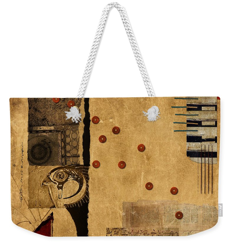 Carol Leigh Weekender Tote Bag featuring the photograph Across The Board by Carol Leigh