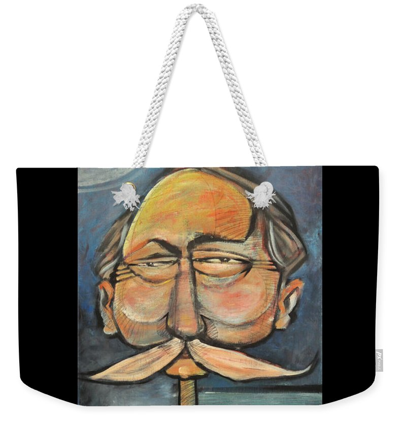 Bird Weekender Tote Bag featuring the painting Admiral Bird by Tim Nyberg