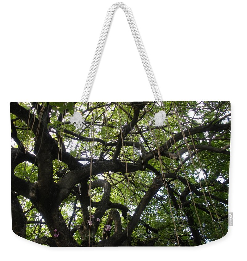 Trees Weekender Tote Bag featuring the photograph Aerial Network II by Maria Bonnier-Perez