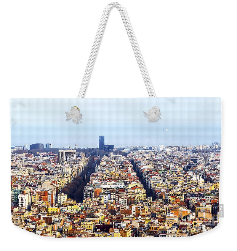 Active Weekender Tote Bag featuring the photograph Aerial View by Svetlana Sewell