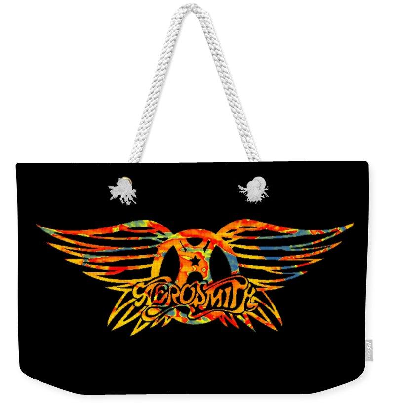 Alternatif Weekender Tote Bag featuring the photograph Aerosmith by Ceng Atang