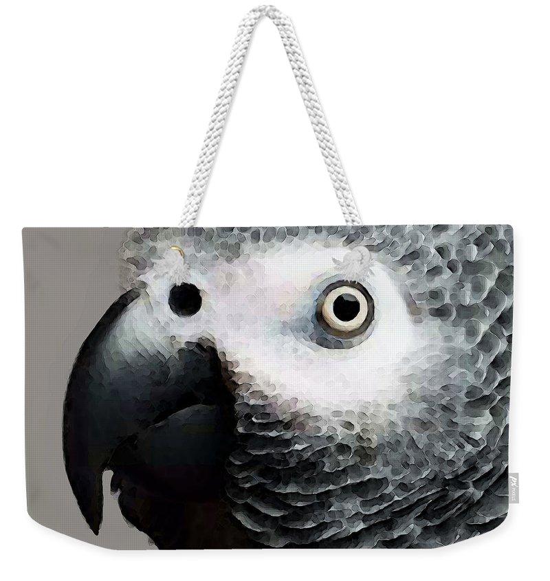 Parrot Weekender Tote Bags