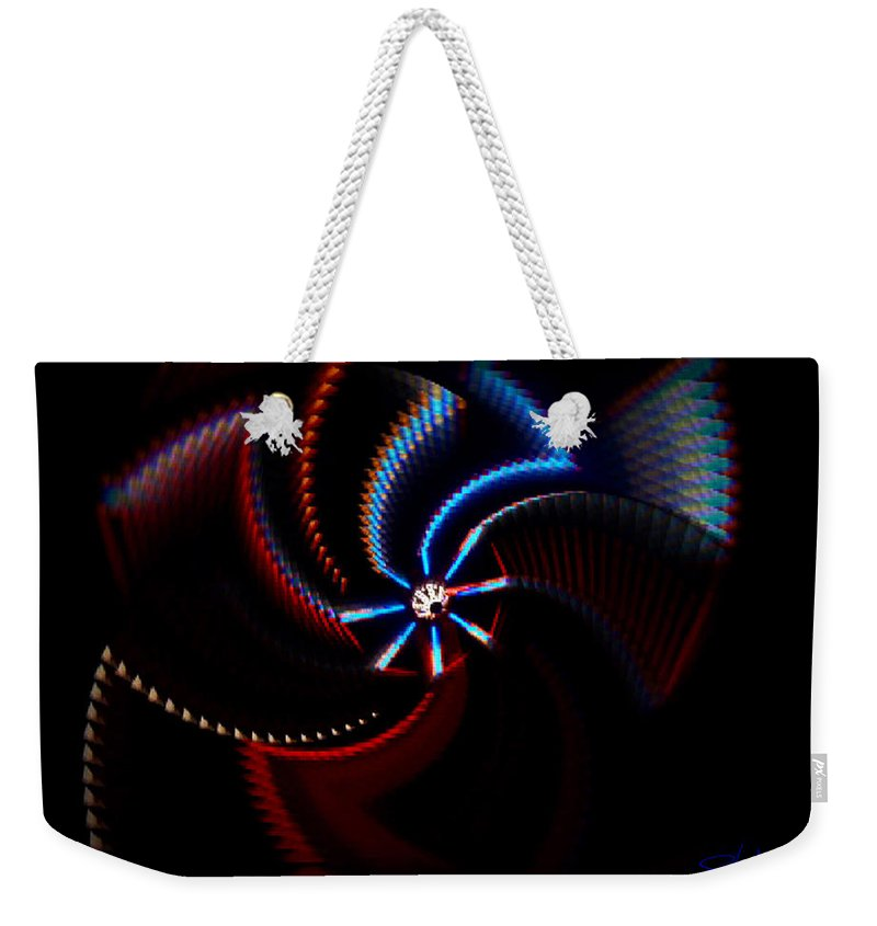 Chaos Weekender Tote Bag featuring the photograph After Shock by Charles Stuart