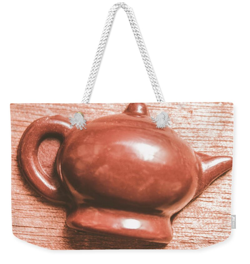 Dessert Weekender Tote Bag featuring the photograph After Tea Confection by Jorgo Photography - Wall Art Gallery
