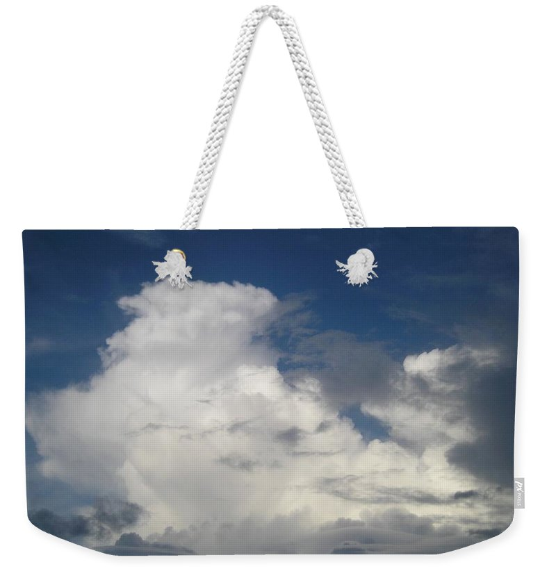 Clouds Weekender Tote Bag featuring the photograph After The Rain by Maria Bonnier-Perez