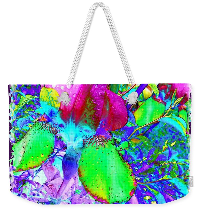 Dramatic Weekender Tote Bag featuring the digital art After The Rain by Will Borden