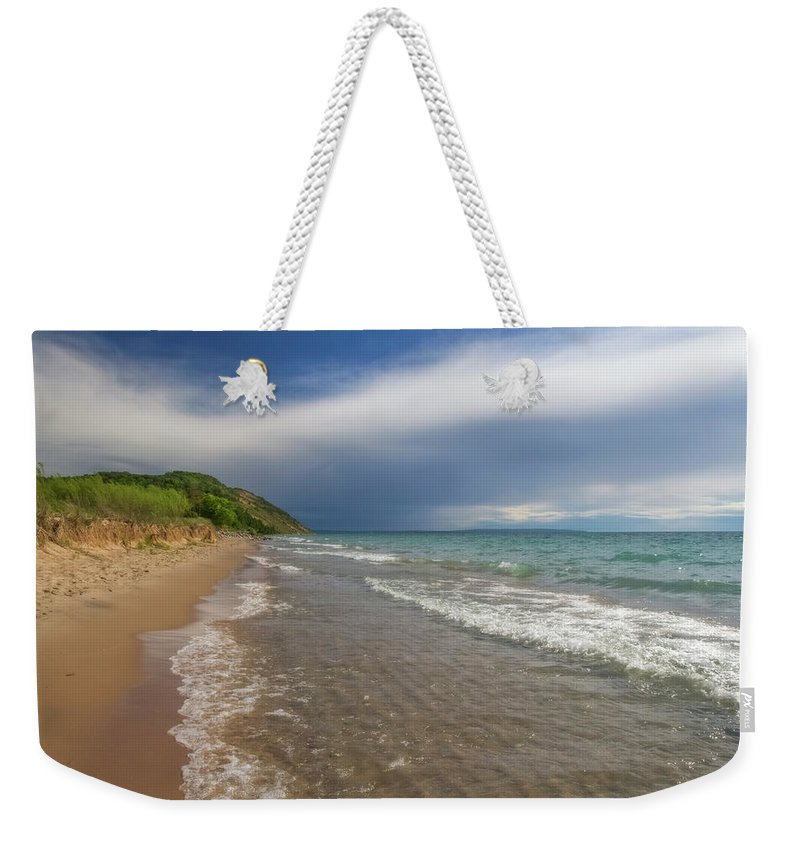 Storm Weekender Tote Bag featuring the photograph After The Storm by Heather Kenward