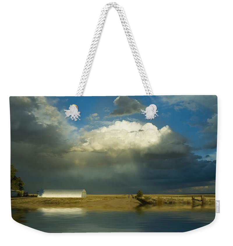 Storm Weekender Tote Bag featuring the photograph After The Storm by Jerry McElroy