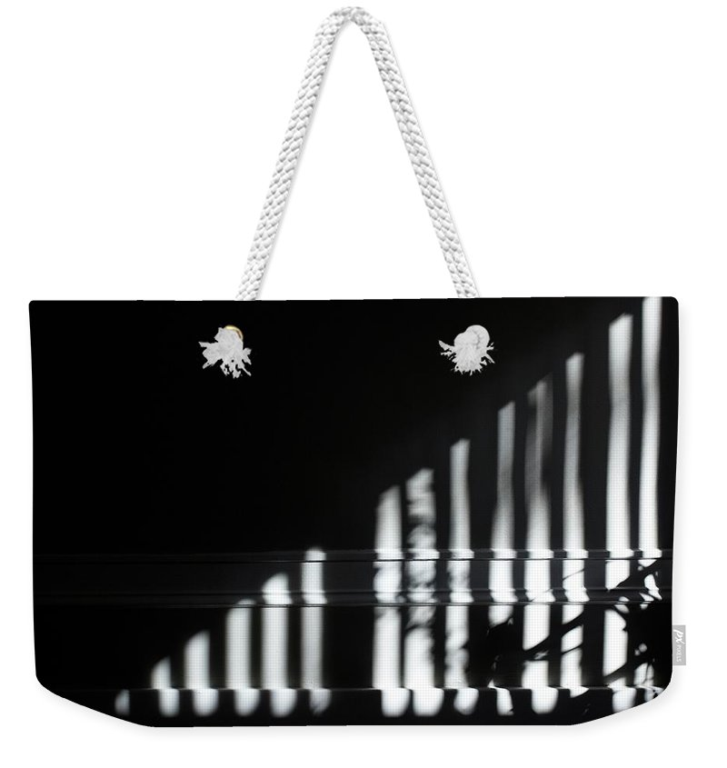 Sun Weekender Tote Bag featuring the photograph Afternoon Bars by Jordan Mayle