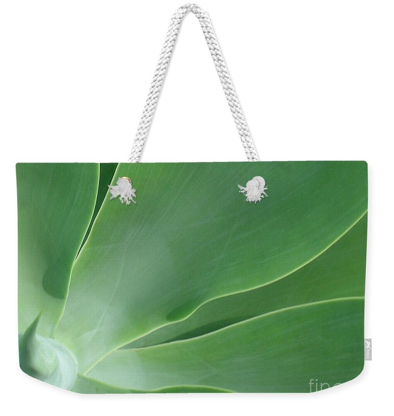 Agave Weekender Tote Bag featuring the photograph Agave by James Temple