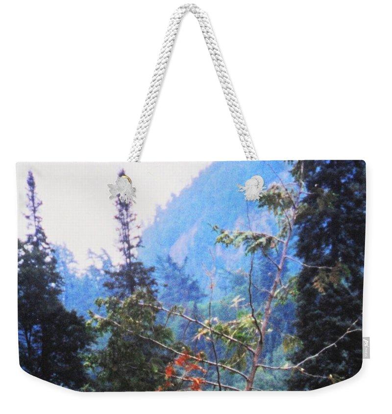 Agawa Weekender Tote Bag featuring the photograph Agawa Canyon by Ian MacDonald