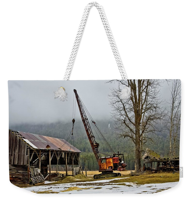 Good Grief Weekender Tote Bag featuring the photograph Aged To Perfection by Albert Seger