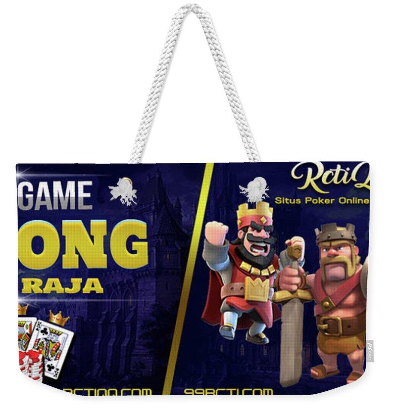 Agen Bandar Sakong Online Terpercaya Indonesia Weekender Tote Bag For Sale By Rctiqq