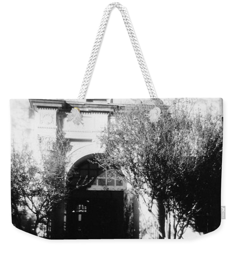 Alamo Weekender Tote Bag featuring the photograph Alamo by Pharris Art