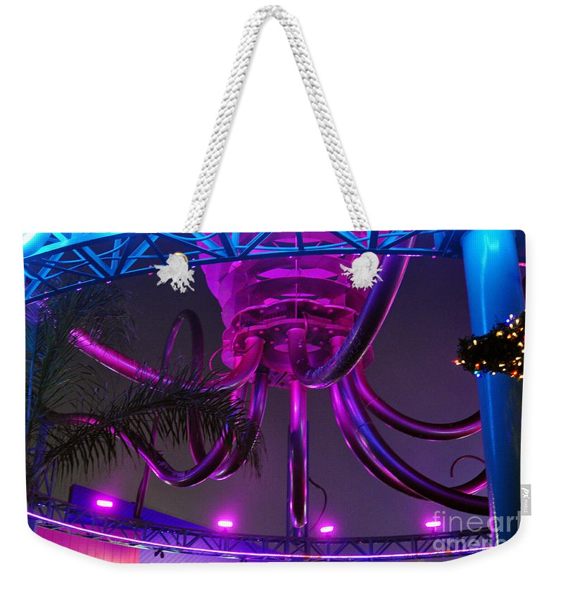 Clay Weekender Tote Bag featuring the photograph Alien Ship Or What by Clayton Bruster