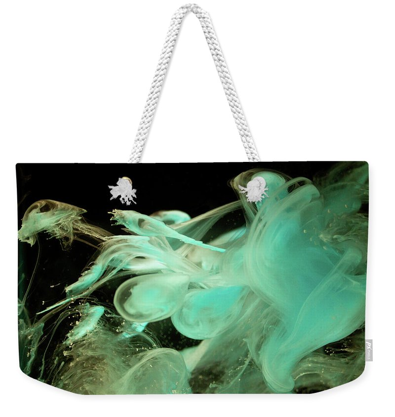 Digitalimage Weekender Tote Bag featuring the photograph Alien by Tony Svensson